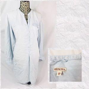 Merona Lightweight Denim Tunic Size XXL